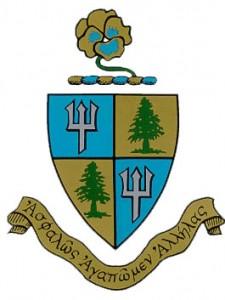 Delta Delta Delta crest