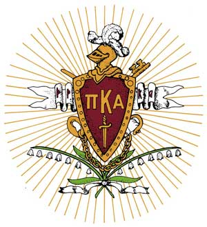 Pi Kappa Alpha crest