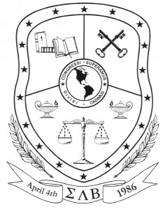 Sigma Lambda Beta crest
