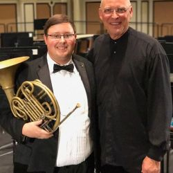 National Intercollegiate Band Program Principal French Horn - Matt Meadows